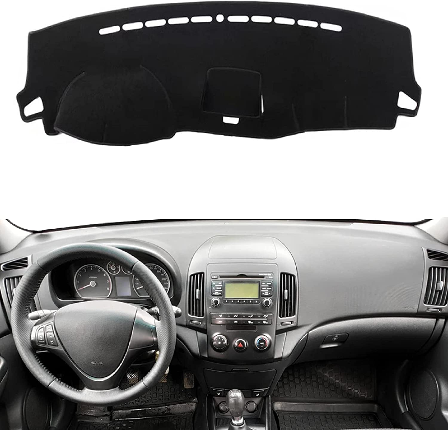 Car Dashboard Cover Mat for Hyundai New arrival Coupe I30 Kombi Over item handling ☆ 2007-2012 I