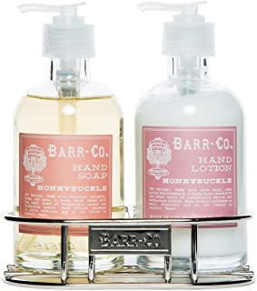 Barr Co Honeysuckle Hand & Body Duo with Caddy