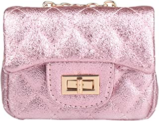 Pinky Family Little Girls Purse Kids Toys Toddler Purse Pink