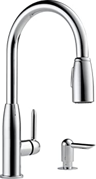 Peerless Core Kitchen Single Handle Pull-Down Faucet in Chrome