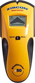 Zircon StudSensor e50 Electronic Wall Scanner / Edge Finding Stud Finder / Live AC..