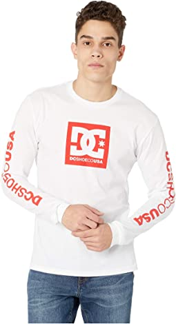 Square Star Long Sleeve T-Shirt