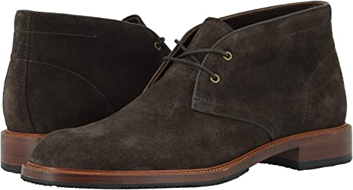 Charcoal English Suede