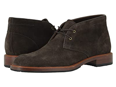 Trask Landers (Charcoal English Suede) Men