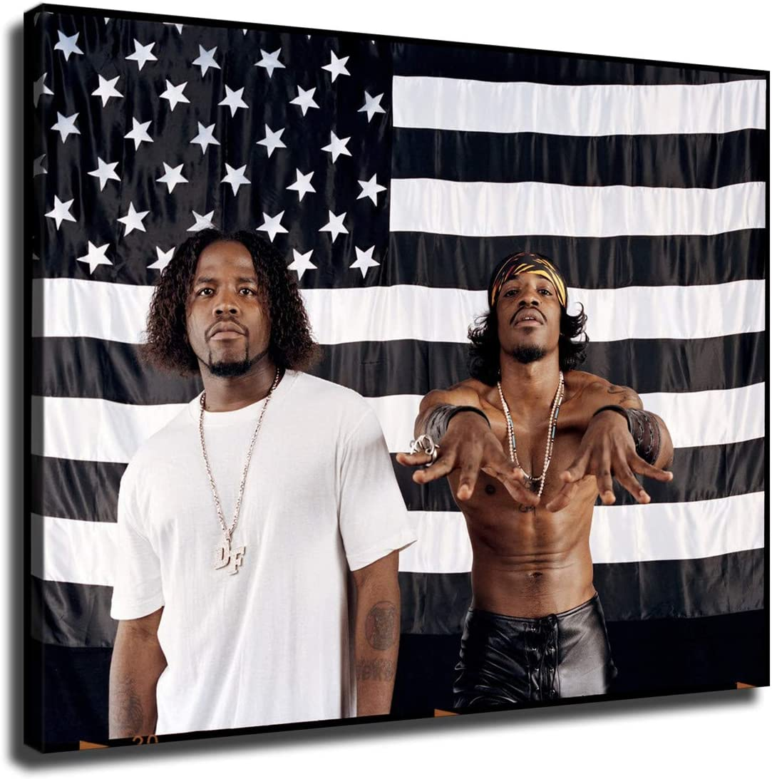 OUTKAST Wall Attention brand Art Financial sales sale Modern Artwork Canvas Print Painting Picture on