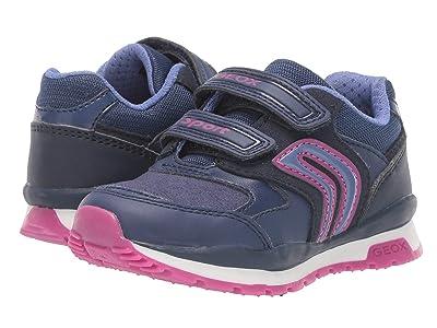 Geox Kids Jr Pavel 5 (Toddler) (Blue/Purple) Girls Shoes