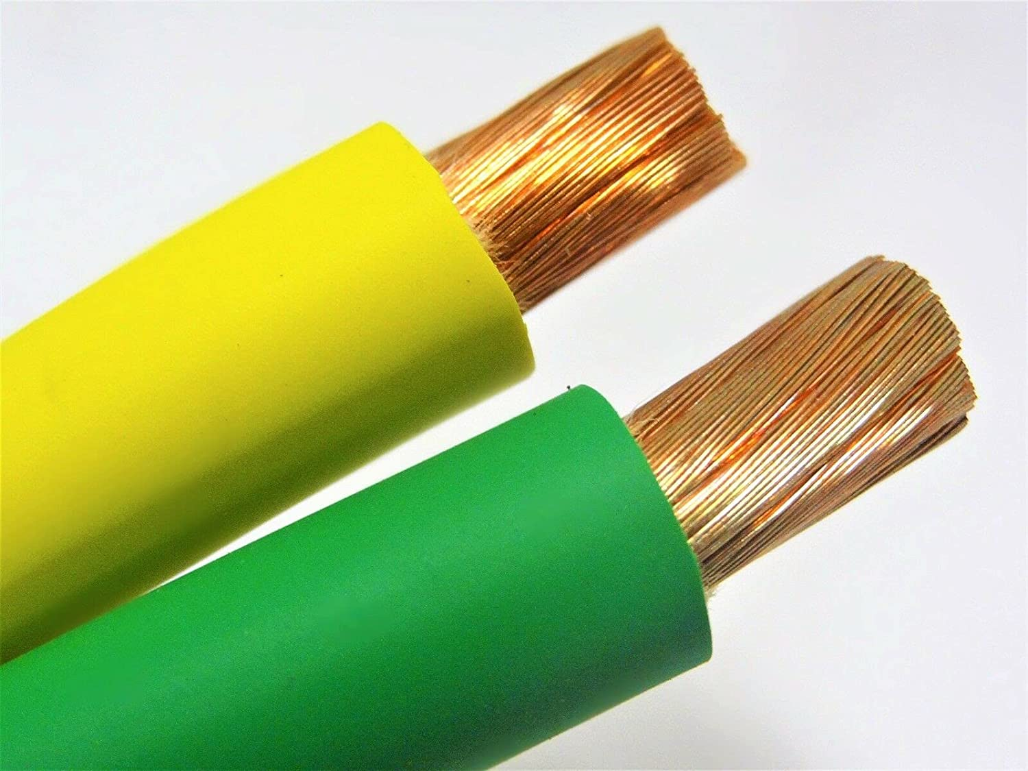 10' We OFFer at cheap prices FT 2 AWG Louisville-Jefferson County Mall Gauge EDPM Welding Cable Yellow New Green USA 5'