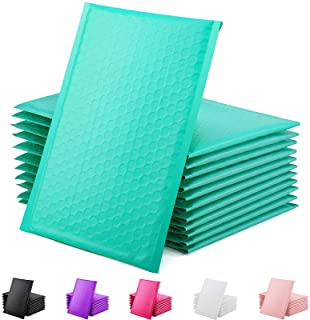 GSSUSA Padded Poly Mailers 6x10 Inches Bubble Mailer Envelopes Small Packaging Mailing Envelope Bags Shipping Bag Bulk Pac...