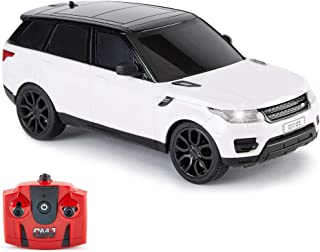 CMJ RC Cars TM Range Rover Sport-auto met afstandsbediening schaal 1:24 met werkende led-verlichting, radiografisch bestuu...