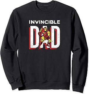 Marvel Iron Man Invincible Dad Comic Book Men's Sweatshirt