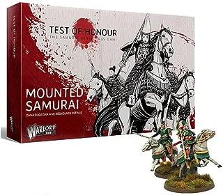 Warlord Games Test of Honour - Samurai Miniatures Game - Mounted Samurai (6) (28mm)