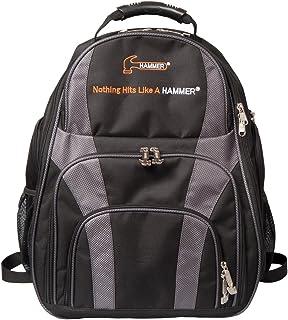Hammer Deuce 2-Ball Backpack Bowling Bag, Black/Carbon