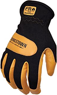 Youngstown Glove 12-3270-80-M Flame Resistant Mechanics Hybrid Gloves, Medium