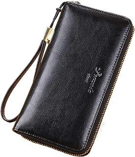 Wallets for Women,Credit Card Holder (Black)