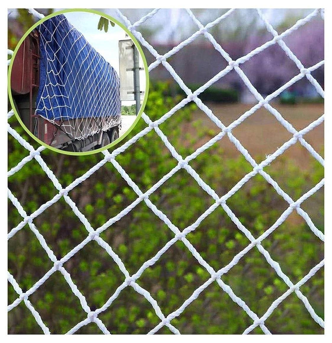 セッション応援するペースト子供の安全ネット保護ネット装飾ネット屋外保護ネット 屋外用クライミングロープネット白、子供用保護クライミングネット安全なネットロープネット大階段子供落下防止クライミングネット幼稚園保護ネットカスタマイズ可能 屋内造園安全手すり階段バルコニー窓 (Color : 5cm Mesh, Size : 5*5M)