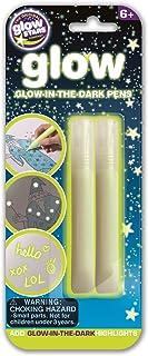 brainstorm B8502 Glow Creations Glow in the Dark Pens, Green Medium