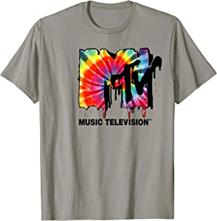 Logo Tie Dye Drip Graphic T-Shirt
