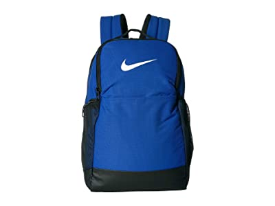 Nike Brasilia Medium Backpack 9.0 (Game Royal/Black/White) Backpack Bags