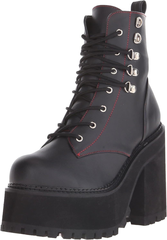Demonia Womens Asst100 Bvl Boot
