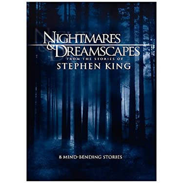 Warner Manufacturing Nightmares & DREAMSCAPES Collection (DVD/3 DISC/8 Stories/Stephen King)