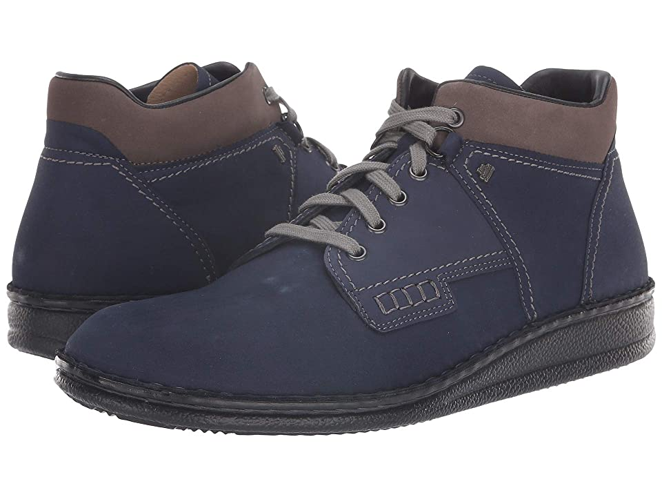Finn Comfort Linz (Indigo/Carbon) Lace up casual Shoes