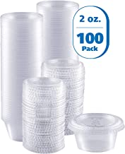 Best disposable sauce cups with lids Reviews
