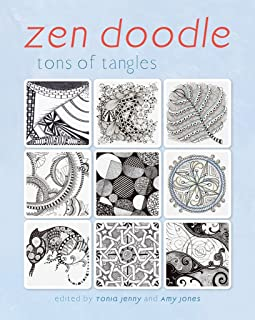 Zen Doodle: Tons of Tangles (English Edition)