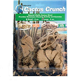 Polly's Cactus Crunch Bird Chew Toy, Large
