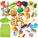 40 Piece Pretend Cutting Play Food Set