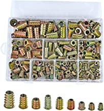 Inzetstukken met schroefdraad Moeren M4-M10 Wood Insert Assortiment Tool Kit Furniture Screw 200pcs