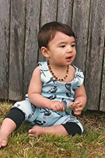 Dusty Road Apparel Organic Cotton Rompers | Maggie | 000-2
