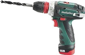 Metabo 6.00157.50 Taladro atornillador, 2 W, 14.4 V