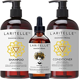 Laritelle Organic Hair Growth Set Diamond Strong