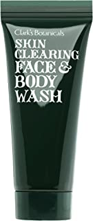 Clark's Botanicals Skin Clearing Face and Body Wash, Salicylic Acid, Exfoliating, Refining, Anti-Aging, 7.4 Fluid Ounces