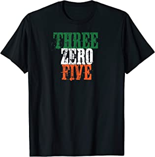 Three Zero Five 305 Miami T-Shirt