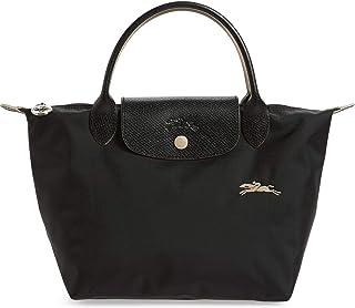 Longchamp 'Small Le Pliage Nylon Club Tote Top Handle Bag, Black