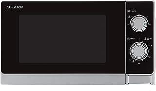 comprar comparacion Sharp R-200(IN) W Microondas, Control Mecánico, Silver, 800 W, 20 litros, Blanco