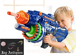 JAY ANTIQUES Soft Bullet Toy Gun Battery Operated Gun with 20 Foam Bullets & 20 Suction Dart Bullets (STORM-40 Bullets)