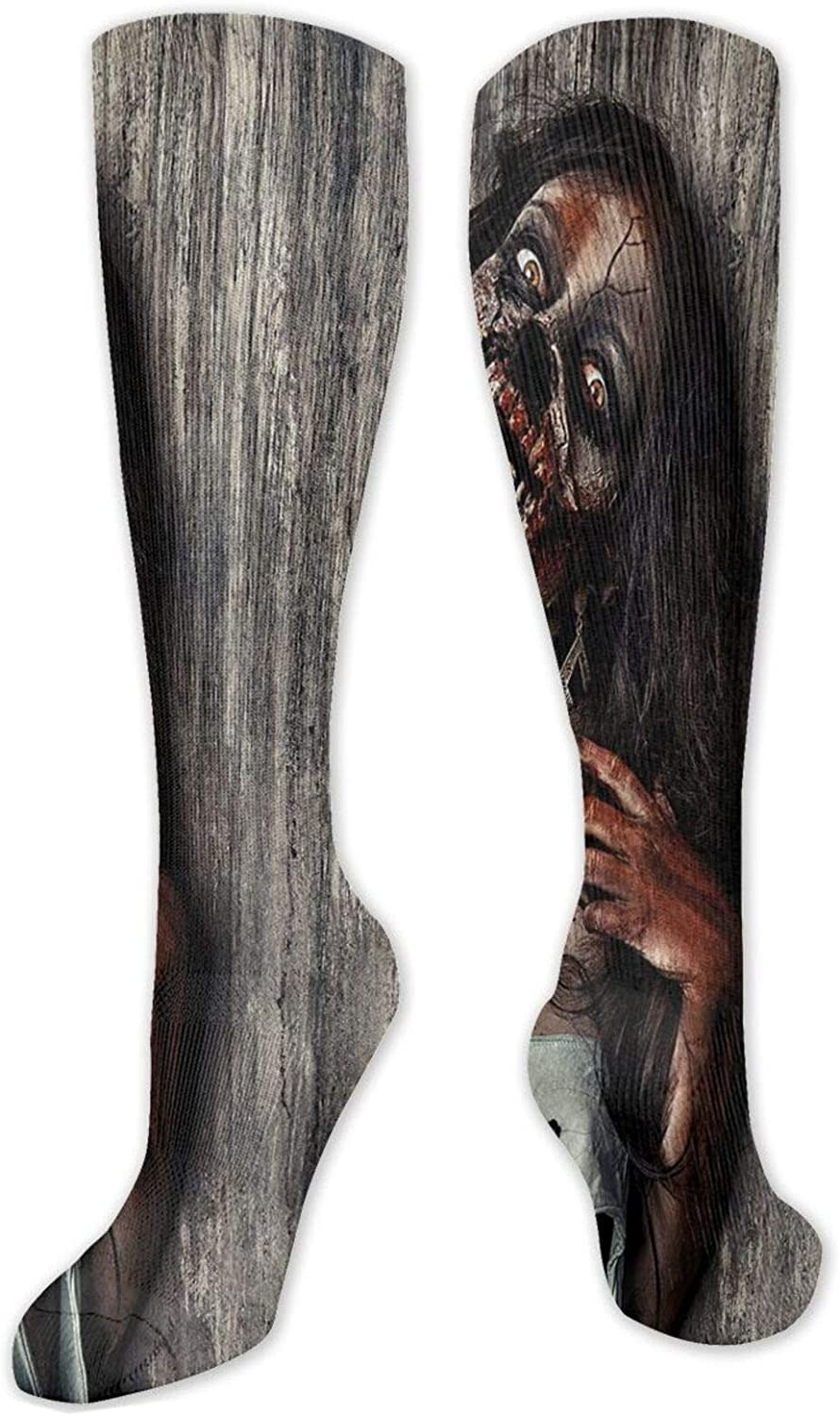 Compression High Socks Angry Brand new Genuine Free Shipping Dead Woman Sacrifice Mystic Fantasy