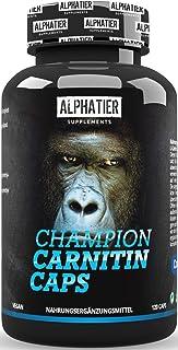 L-CARNITINE Capsules Carnipure - Alphatier L-Carnitine Caps - hoog gedoseerd + veganistisch - 750 mg Lonza Carnitine-Tartr...