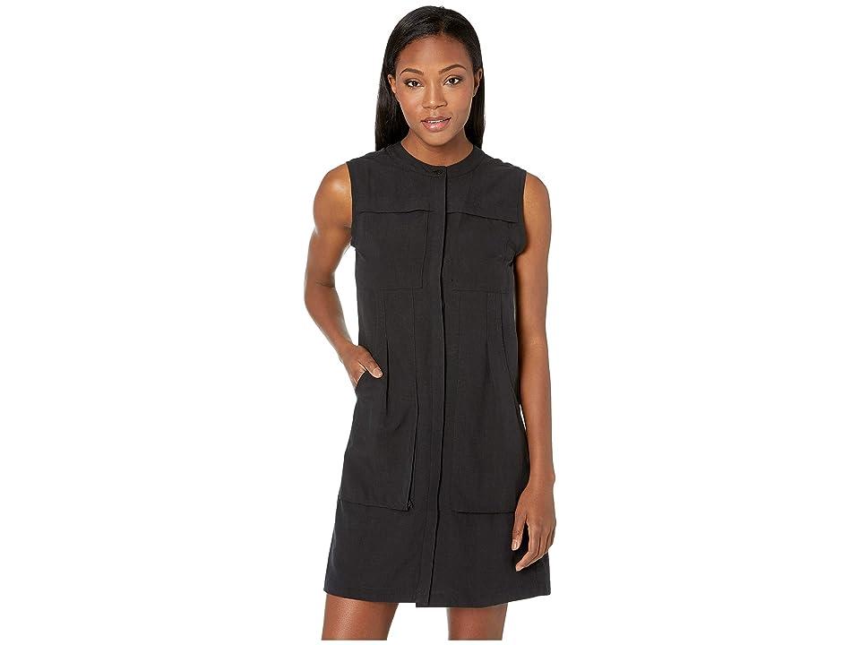 NAU Flaxible Sleeveless Dress (Caviar) Women
