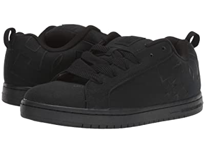 DC Court Graffik TX (Black/Black) Men