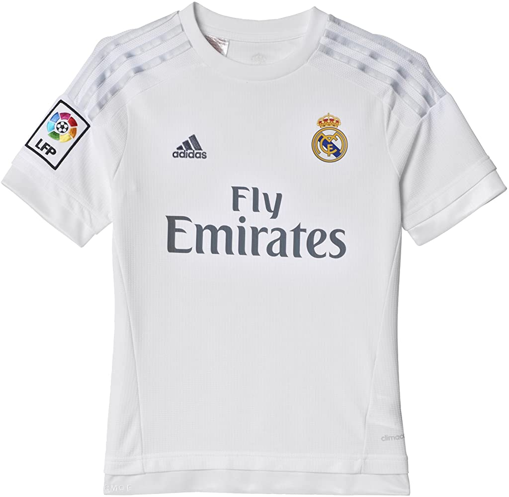 adidas Real Madrid CF Home Youth Jersey-White