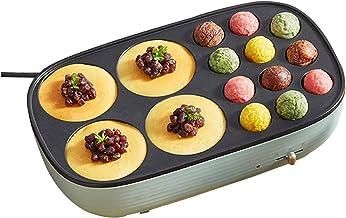 YUMEIGE Elektrische bakvorm Elektrische bakpan, kleine octopus ballen, huishoudelijke pannenkoek pannekoekomelet en omelet...
