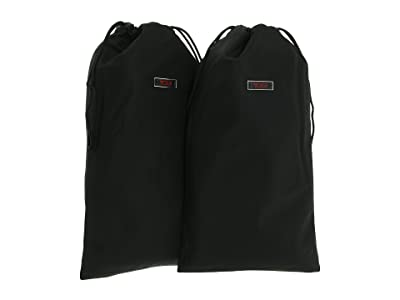 Tumi Packing Accessories Shoe Bags (pair) (Black) Travel Pouch