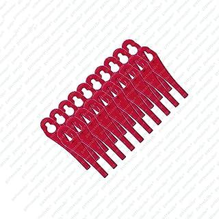 comprar comparacion 20 cuchillas de plástico para cortabordes Florabest con batería FAT 18 B3 - LIDL IAN 273039, Hueso