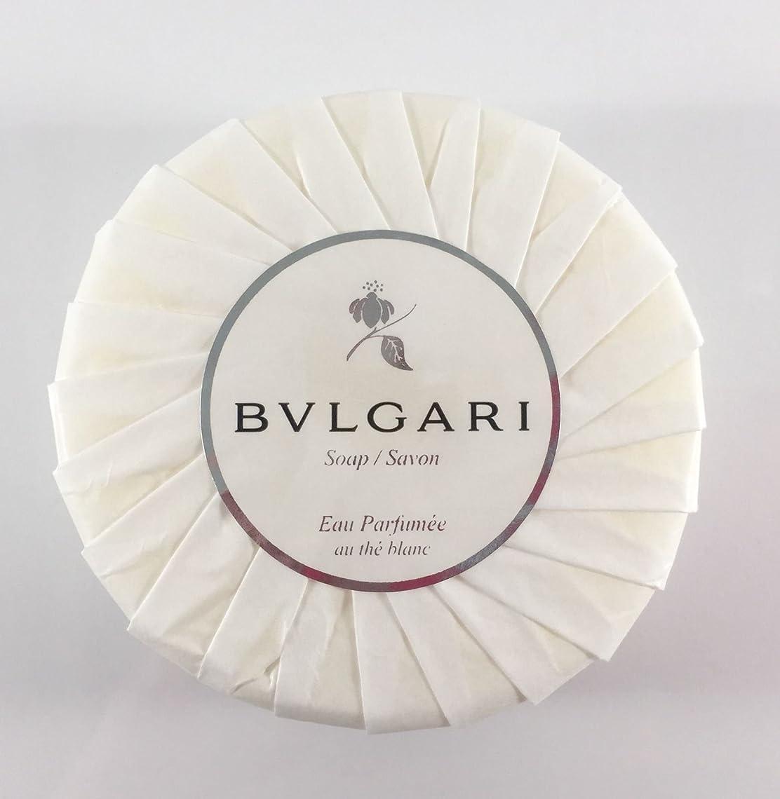 空中愛されし者ゲートブルガリ オ?パフメ オーテブラン デラックスソープ150g BVLGARI Bvlgari Eau Parfumee au the blanc White Soap