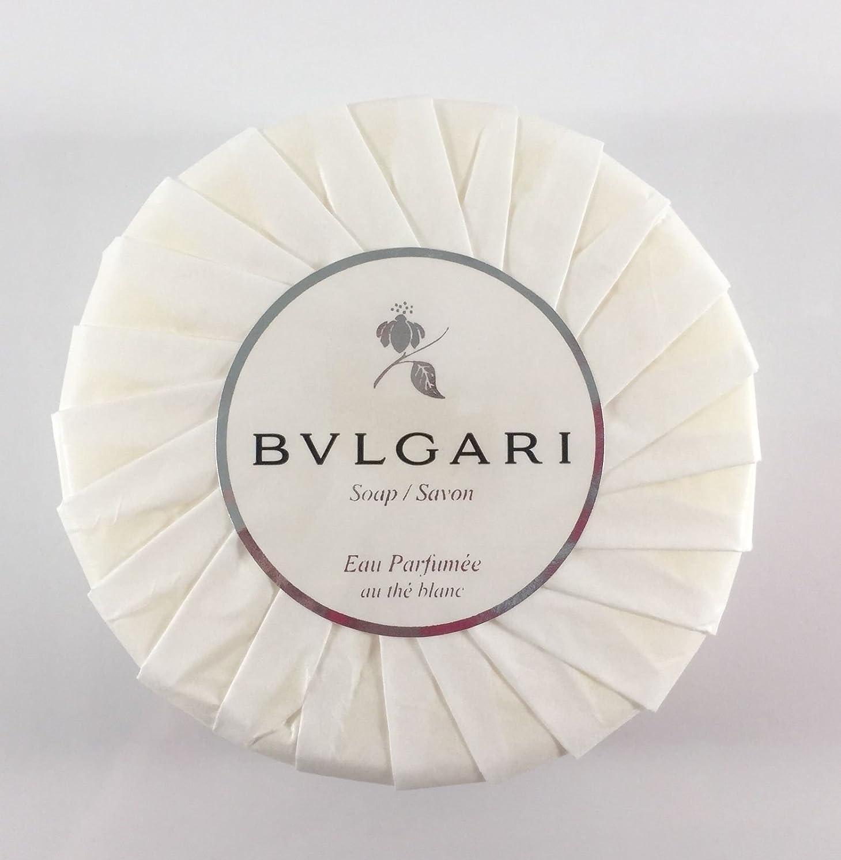 ビーム洗剤スロベニアブルガリ オ?パフメ オーテブラン デラックスソープ150g BVLGARI Bvlgari Eau Parfumee au the blanc White Soap