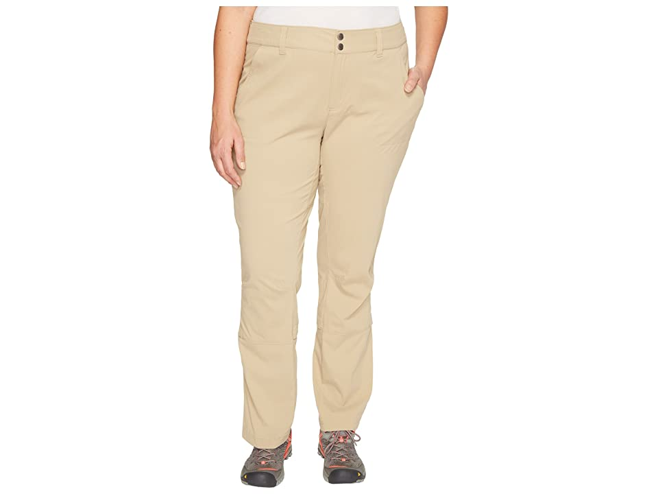 Columbia Plus Size Saturday Trail Pants (British Tan) Women