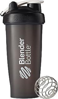 BlenderBottle Classic Loop Top Shaker Bottle, Black, 28 Ounce by Blender Bottle
